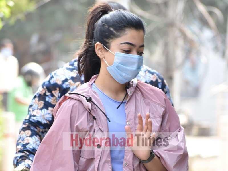 Spotted: Rashmika Mandanna rocks bright hues as she heads to the gym for a workout session