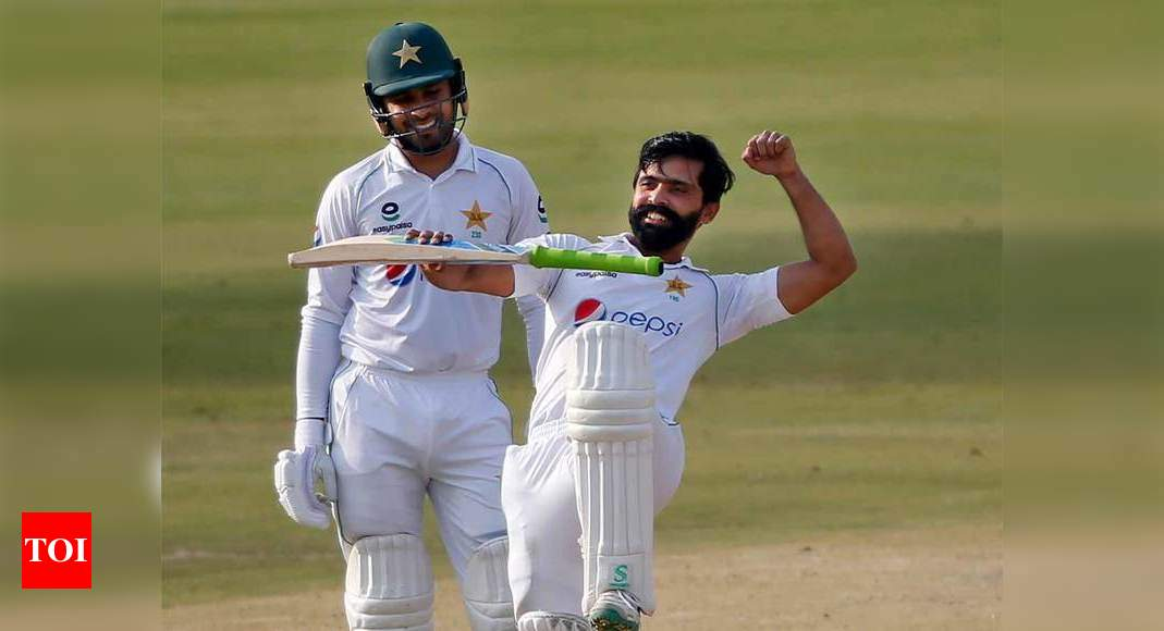 1st Test: Pakistan's Fawad Alam punishes South Africa with century | Cricket News – Times of India