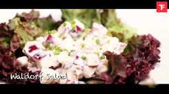 Watch: How to make Waldorf Salad
