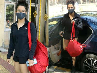 Sanya Malhotra's gym look is too cute to miss