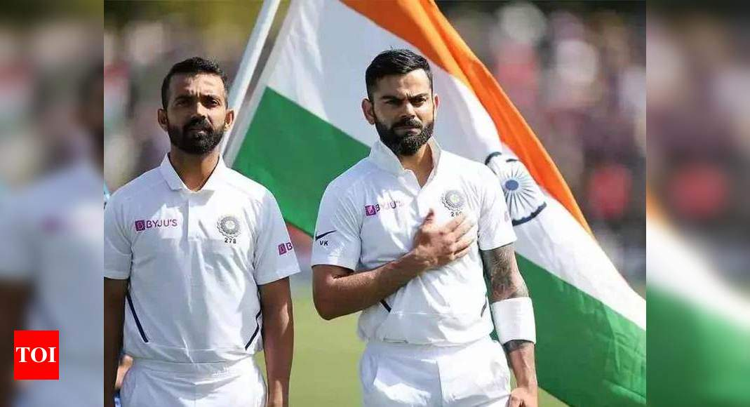 Rahane doesn't get angry when bowlers go wrong, Virat's energy mistaken for anger: Arun | Cricket News – Times of India