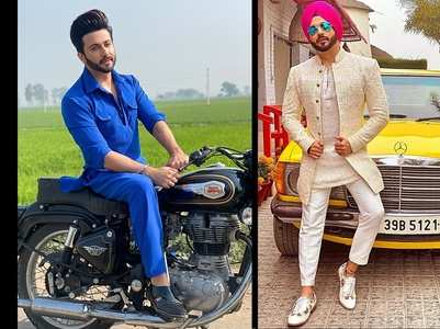 Dheeraj wears a turban for the first time