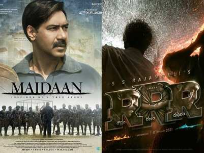 Excl: Industry talks about 'Maidaan' Vs 'RRR'
