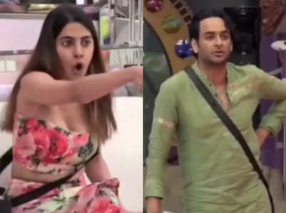 Nikki accuses Vikas of doing 'chumma chaati'