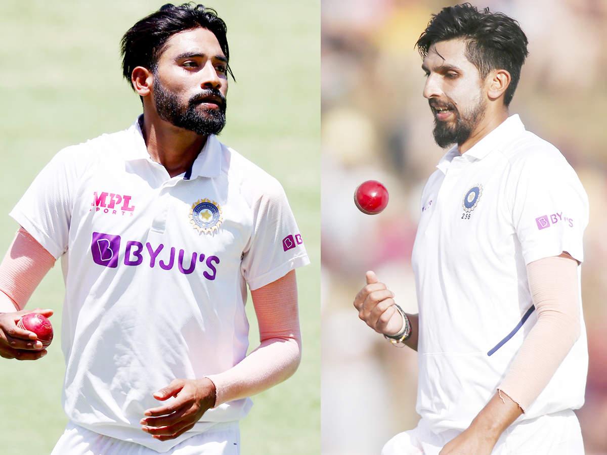 Mohammed Siraj: Excited to bowl alongside Ishant Sharma vs England, says Mohammed Siraj | Cricket News - Times of India