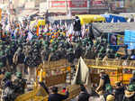 Farmers protest: Clashes break out at Singhu border