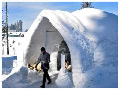 India gets its first Igloo Cafe in Kashmir, netizens are loving it!