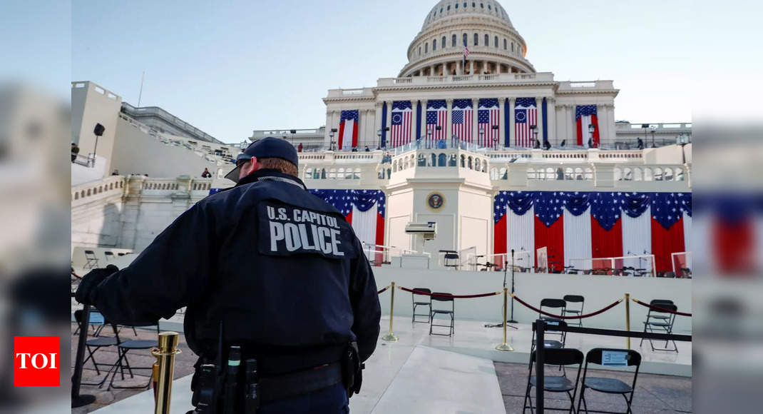 US Capitol police officer who died after riot to lie in honor – Times of India