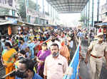 Devotees throng temples on Thai Poosam