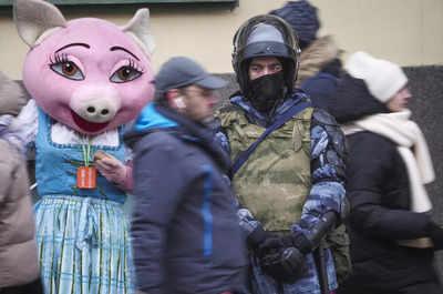 Major Russian rally in Berlin demands freedom for Navalny