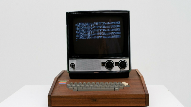 This rare Apple computer made by Steve Jobs is selling for $1.5 million