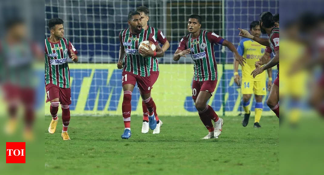 ATK Mohun Bagan return to winning ways in ISL | Football News – Times of India