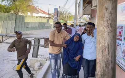 Massive Blast Rocks Somalia's Mogadishu After Reports of Gunfire