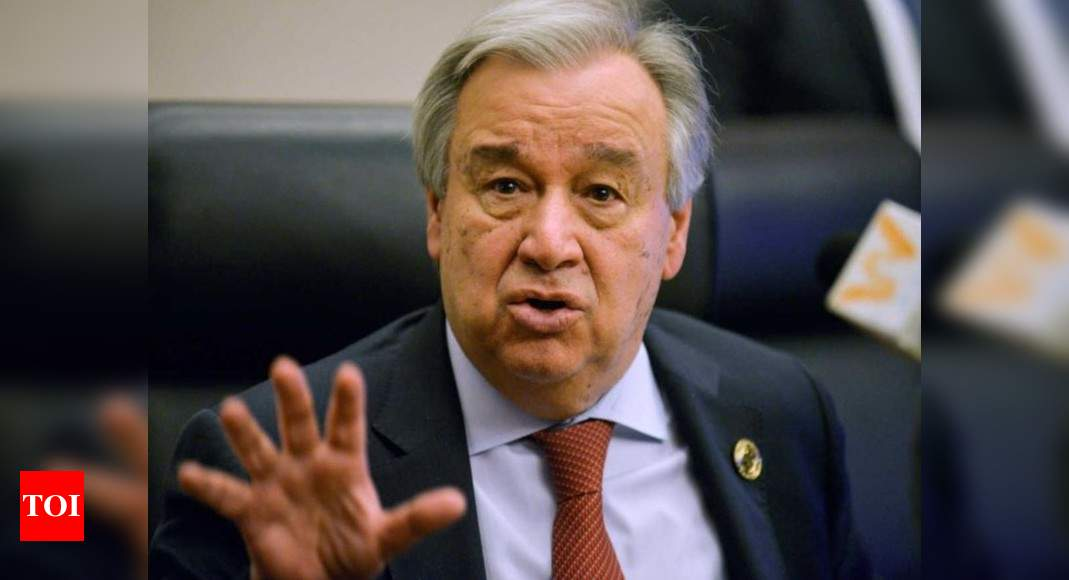 UN head 'strongly condemns' military detention of Myanmar leaders – Times of India
