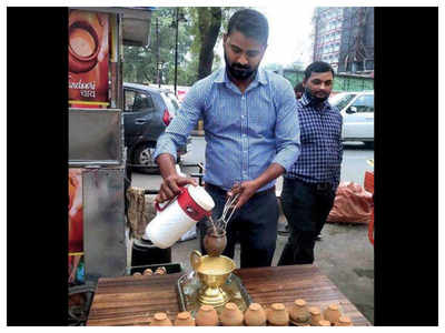 This MBA graduate turned tea seller post lockdown