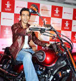 Arjun @ bikes launch