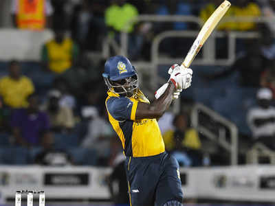 T10: Pooran smashes 12 sixes in 89 off 26