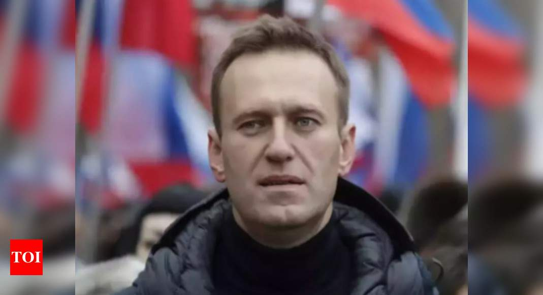 Alexei Navalny: Russian prosecutors back request to imprison Navalny | World News – Times of India