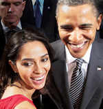 Mallika meets Barack Obama!