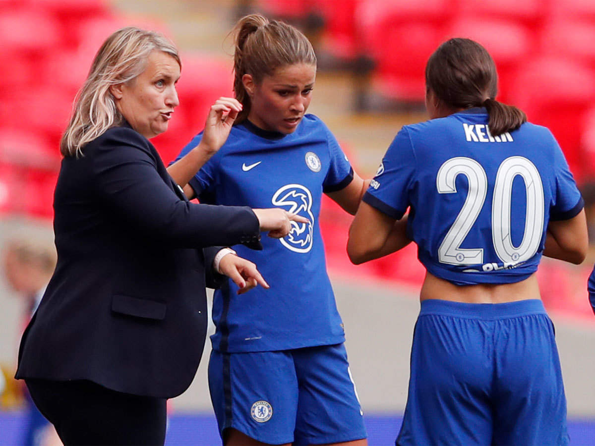 AFC Wimbledon could not afford me, says Chelsea boss Emma Hayes | Football  News - Times of India