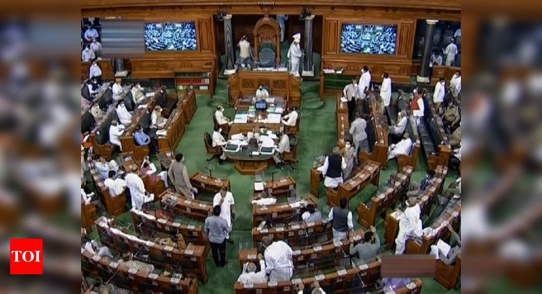 Farm laws issue rocks Lok Sabha for second day; Oppn demands separate discussion | India News – Times of India