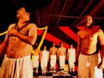 Artistes perform at Rang Aaghaaz Mahotsav