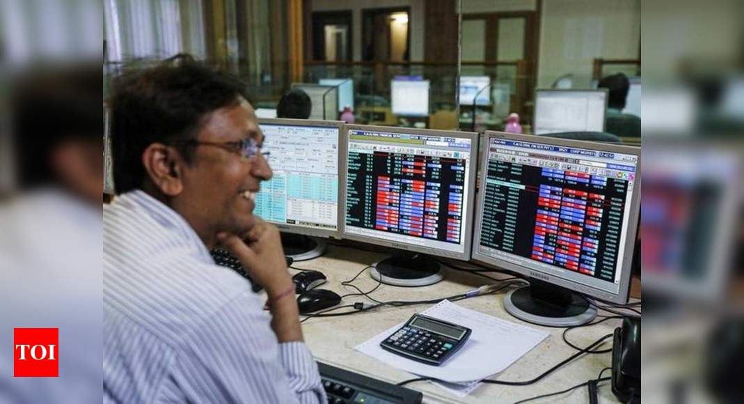 BSE m-cap crosses historic Rs 200 lakh crore-mark - Times of India