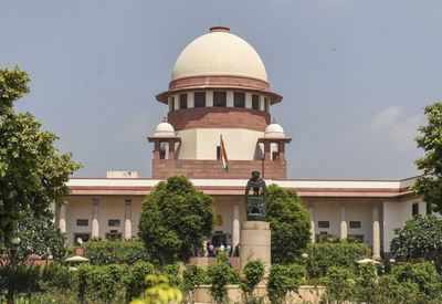 SC imposes a 1-liter fine on babus for delayed appeals |  India News