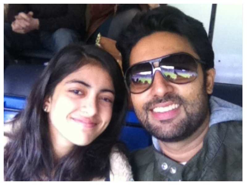 """Navya Naveli Nanda wishes her """"best friend"""" and """"partner in crime"""" Abhishek Bachchan on his birthday: You may just be my favourite family member"""