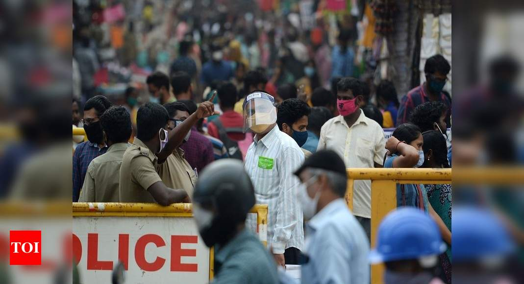 Why India's coronavirus cases have fallen so sharply - Times of India