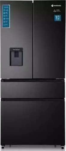 Motorola Multi-Door 533 Litres 2 Star Refrigerator Black Matte 533AFDMTB