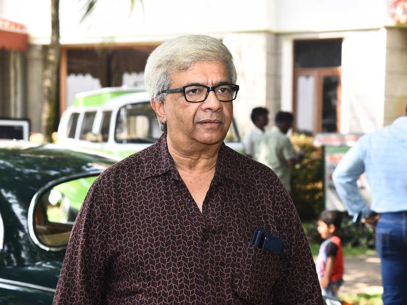 Y Gee Mahendra attends a vintage car show at Radisson Blu Resort Temple Bay Mamallapuram