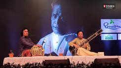 Ustad Shahid Parvez mesmerized Pune audience at 'Abhivadan'
