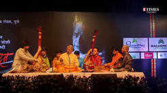 Pandit Upendra Bhat performance at 'Abhivadan' in Pune