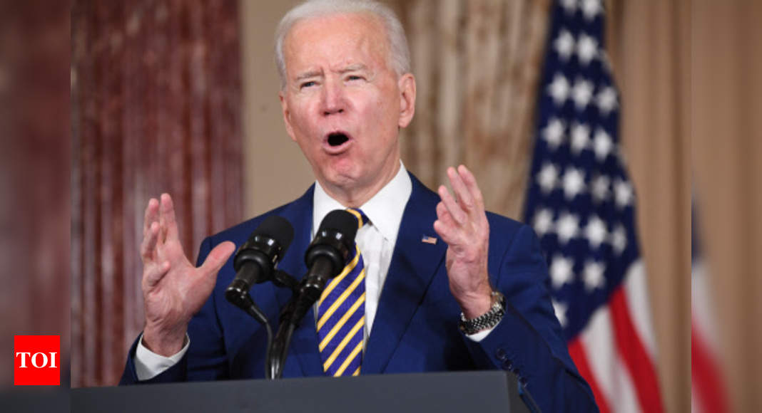 Biden says US won't lift sanctions to bring Iran to talks – Times of India