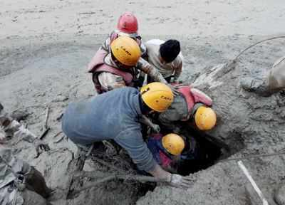 Glacier explosion takes a heavy toll on NTPC's Tapovan project: 148 missing, main dam razed | India News