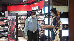 Our Top 15 State Winners visit the Sephora store in Mumbai.