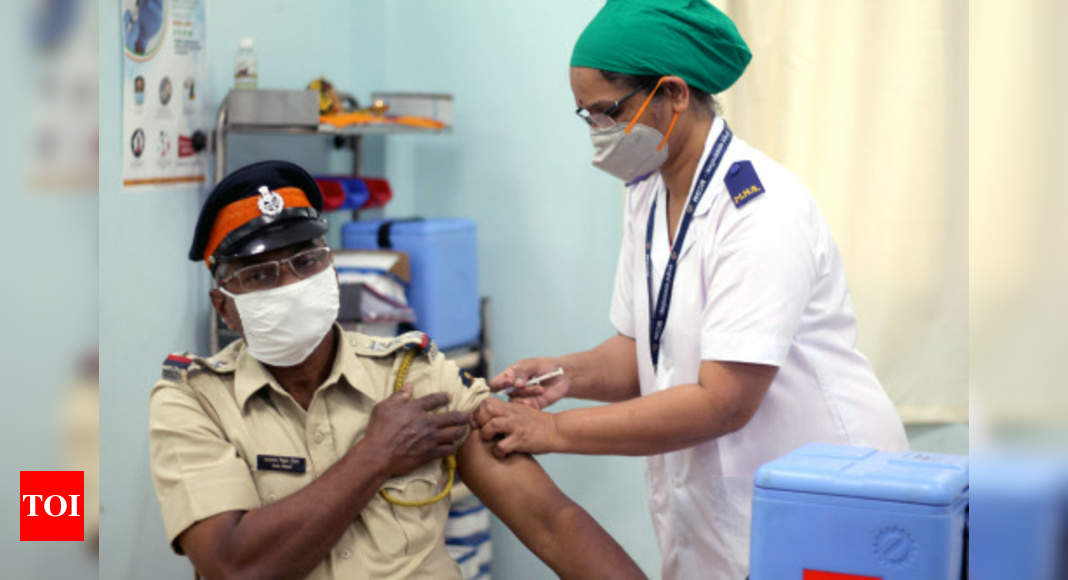 India fastest country to reach 6 million Covid-19 vaccinations mark, says health ministry - Times of India