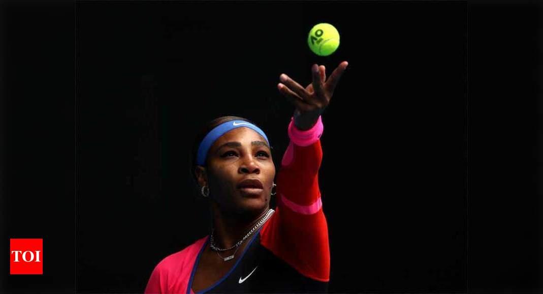 Serena makes a statement, breezes past Siegemund at Australian Open | Tennis News – Times of India