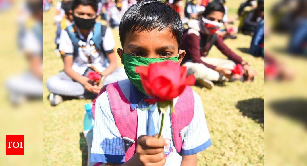 Schools reopen for classes 1 to 8 in summer zone areas of Jammu – Times of India