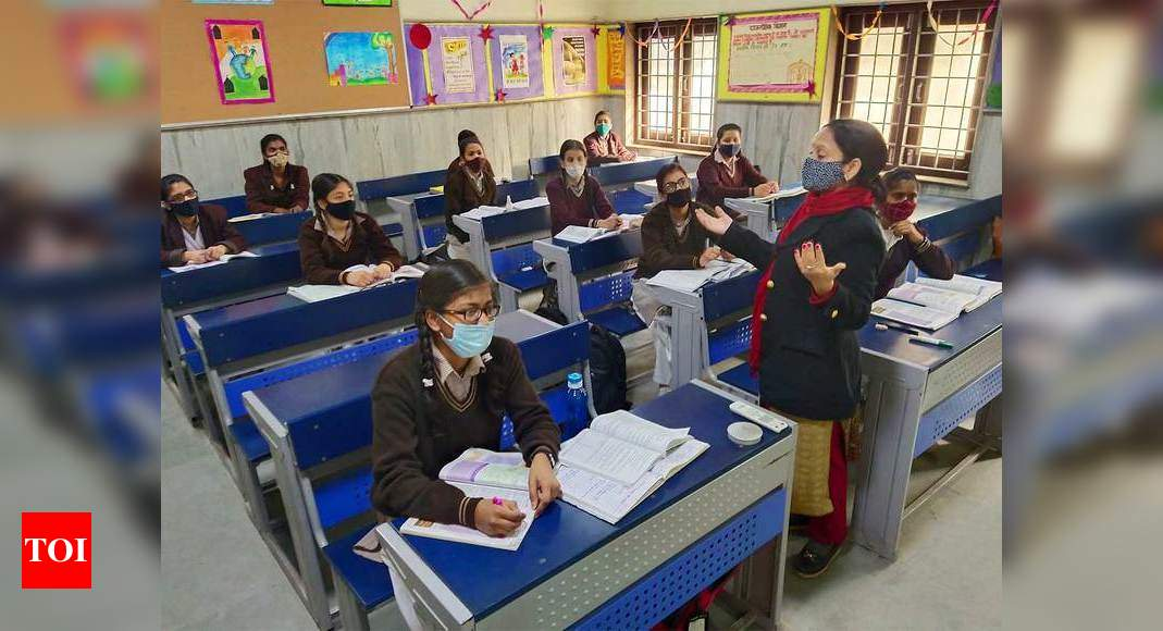 Schools in Odisha reopen for class 9 and 11 – Times of India