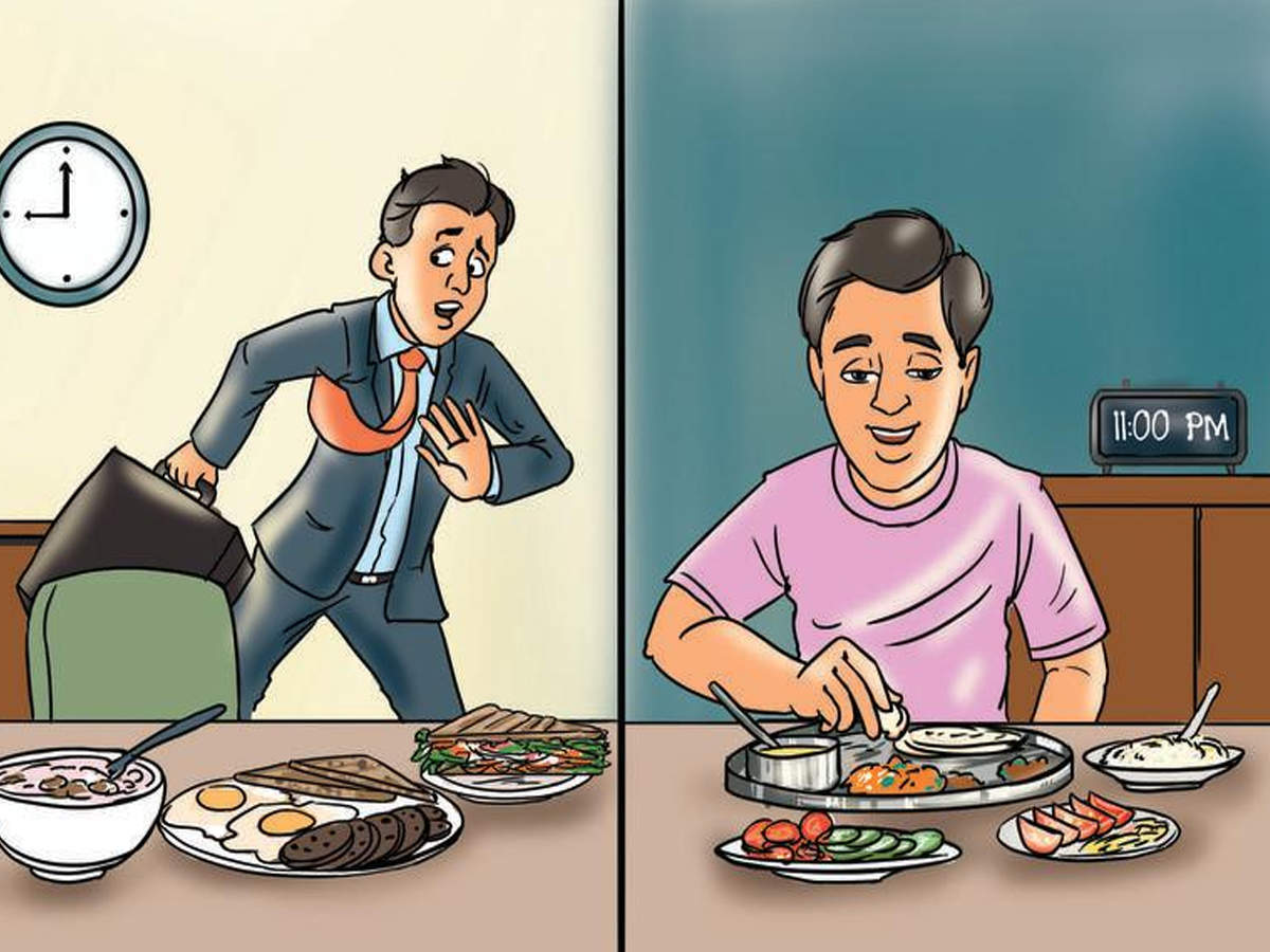 Want a healthy heart? Don't skip breakfast, don't snack after dinner    Ahmedabad News - Times of India