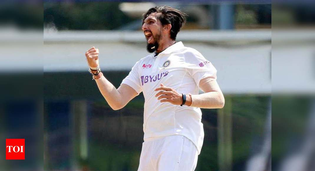 Ishant Sharma, the man for the 'dirty job', climbs Mt 300 - Times of India