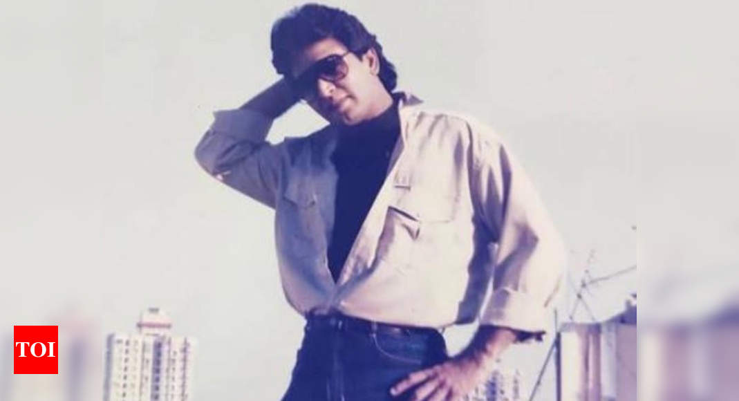 Ramayan's Sunil Lahri aka Lakshman shares a picture from his younger days; looks handsome - Times of India