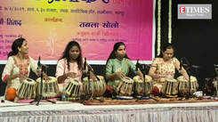 When women tabla players stole the show at Taal Utsav