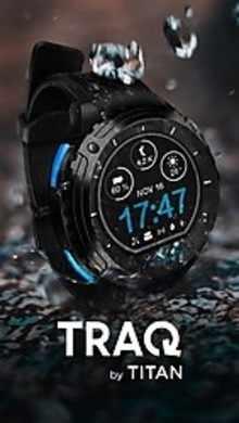 Titan TraQ Cardio 1.34 Inch LCD Display Green, Orange, Black and Yellow Watch