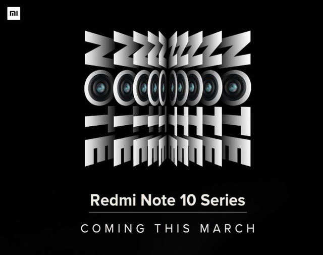 Redmi Note 10 series teased by Xiaomi India MD to launch in March