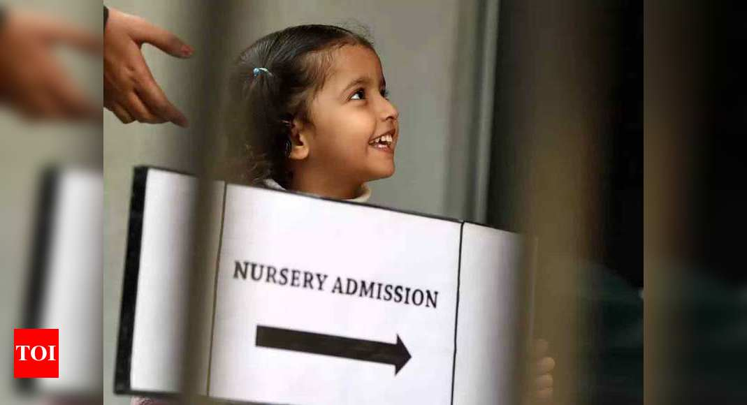 Delhi Nursery Admissions 2021 to start from February 18 – Times of India