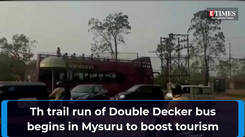 Double Decker bus will soon ferry tourists to places like Zoo, Palace and important heritage monuments in Mysuru