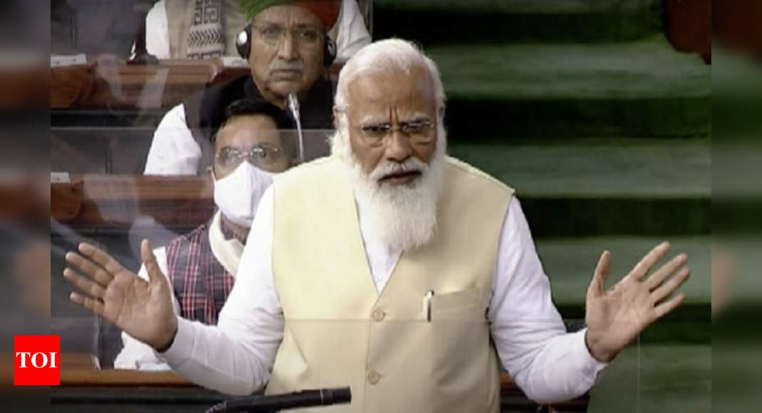 'Can babus do everything?' PM makes strong privatisation pitch - Times of India